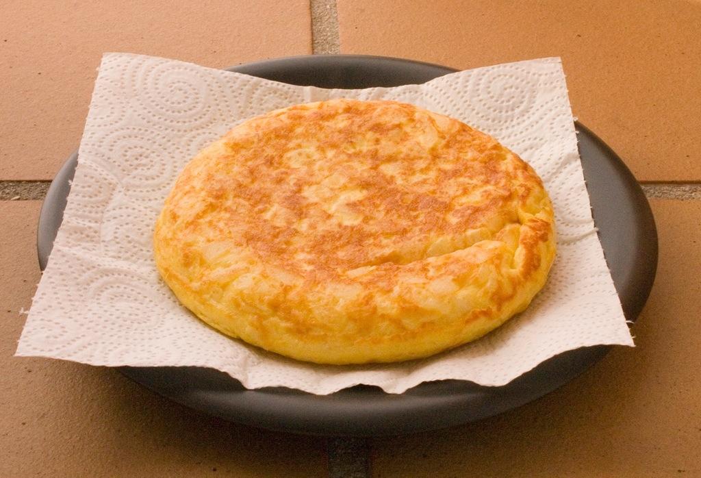 Tortilla de patatas baja en grasas gimnasio rizo - Tortilla en el microondas ...
