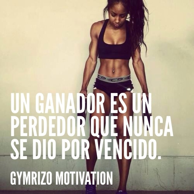 Recopilaci n frases de motivaci n gym rizo motivation for Gimnasio vida fitness