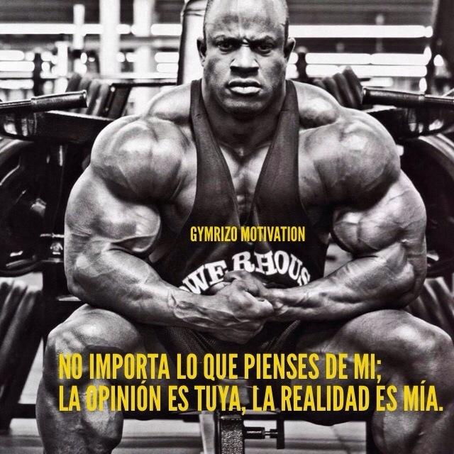 Recopilaci n frases de motivaci n gym rizo motivation for Gimnasio el gym